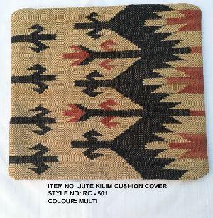 Jute Kilim Cushion Covers