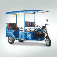 Indo Wagen Z1 Is A Battery Operated Electrical Rickshaw