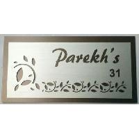 Acrylic Laser Cut Name Plates