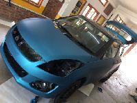 Lagoon Blue Car Wrap