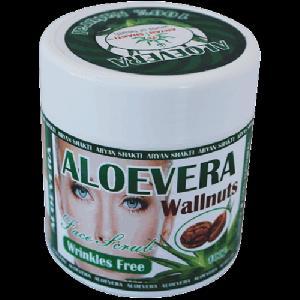 Aloe Vera Face Scrub Walnuts