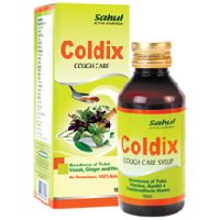 Coldix Herbal Cough Care Syrup