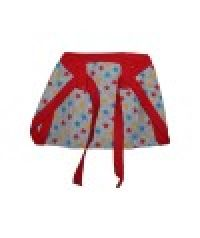 Bb192 Red Baby Cotton Single Nappy
