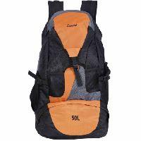 Zwart Jonrov-or 50 L Backpack