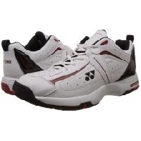 Yonex Sht Soft Tennis Shoes (white/black)