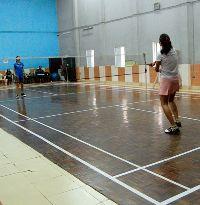 Wooden Badminton Flooring