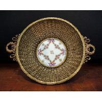 Brass Basket, Leaf