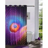Lushomes Digitally Printed 3d Design Shower Curtain
