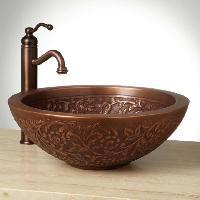 1006 Coram Copper Vessel Sink