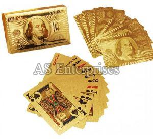 24 Karat Gold Plated Playing Cards