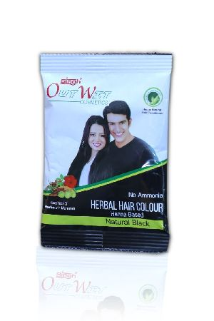 Henna Based Black Herbal Hair Color