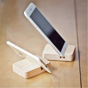 Mobile Holder- Wood