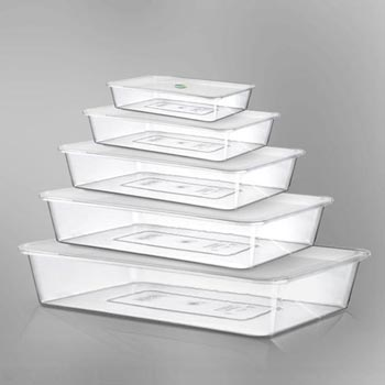 Plastic Lidded Master Trays