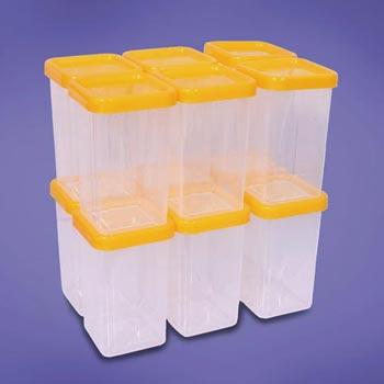 Plastic Spice Boxes