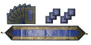 TR01-Blue Designer Table Runner