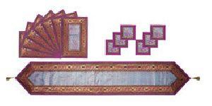 TR03-Purple Designer Table Runner