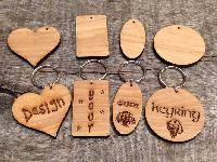 Wooden Keychains