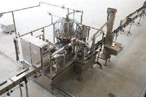 Juice Rinser Filler Capper Machine