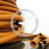 Orange Rubber Tubes