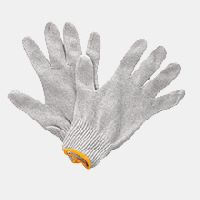 Polyester Cotton Seamless Knitted Gloves