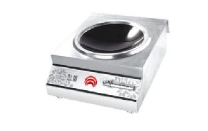 Tabletop Slipbar Double Burner Soup Induction Cooker