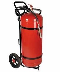 100 kg Capacity Trolley Mounted Fire Extinguisher