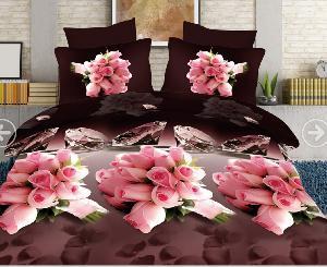 5d Designer Double Bed Sheets