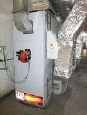Gas Fire Air Heater