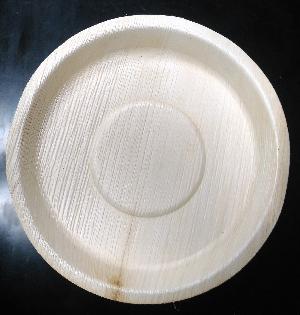 10 Inch Arecanut Leaf Plate