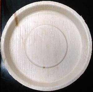 12 Inch Arecanut Leaf Plate