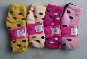 Ladies Terry Ankle Socks