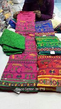 Bandhani Unstitched Suits