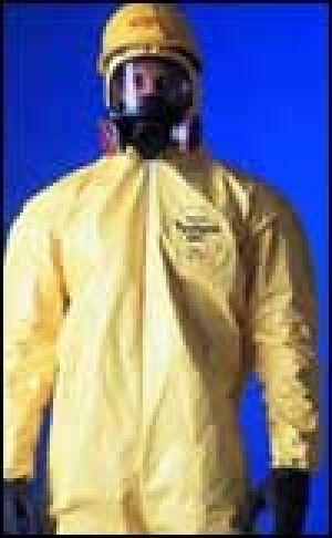 Dupont Tychem C Chemical Resistant Garment