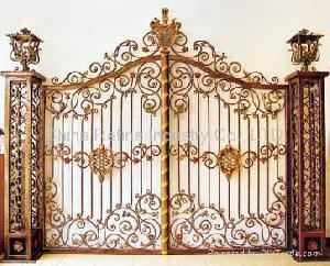Fancy Brass Gate