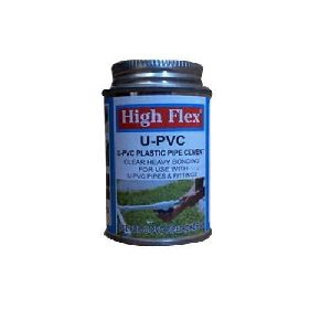 High Flex U-pvc Plastic Pipe Cement