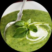 Instant Spinach Soup Powder