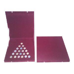 Silver Coin Boxes