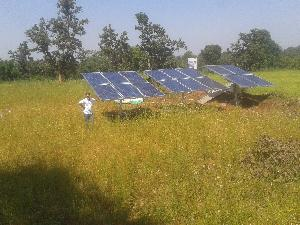 Solar Water Pumping System Installation and Commissioning
