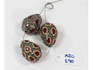 AJC0190 Antique Style Beads