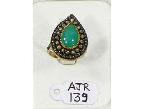 AJR0139 Antique Style Ring