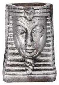 Terracotta Egyptian Mummy Vase