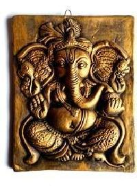 Terracotta Ganesh Wall Hangings