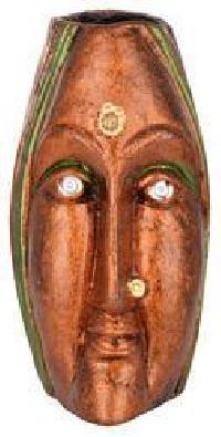 Terracotta Queen Face Vase