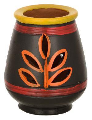 Ruralshades Terracotta Hand Painted Diya Diffuser Handicraft