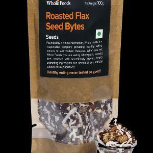 Gluten Free Roasted Flax Seeds