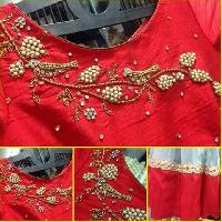 Bandel Embroidered Saree Blouses