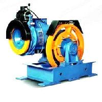 Power Elevator Traction Machine