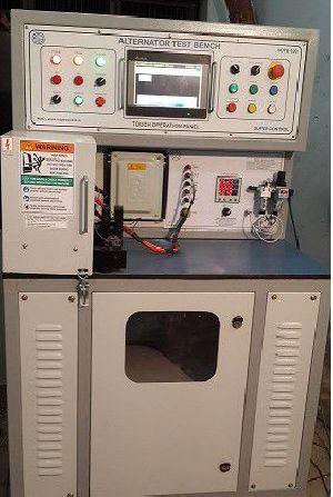 Automatic Alternator Testing Bench