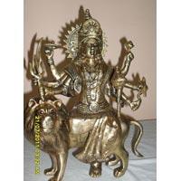 Brass Durga Mata Statue