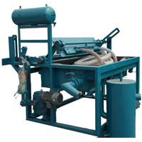 Semi Automatic Rotary Egg Tray Making Machine
